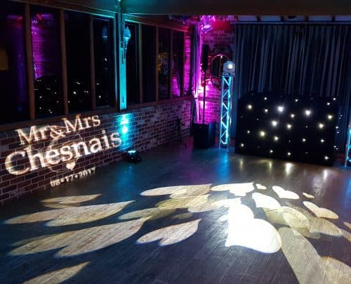 Classic Wedding Package with Personalised Projection