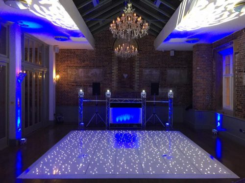 globalhire sound & lighting disco and dance floor package