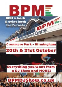BPM poster
